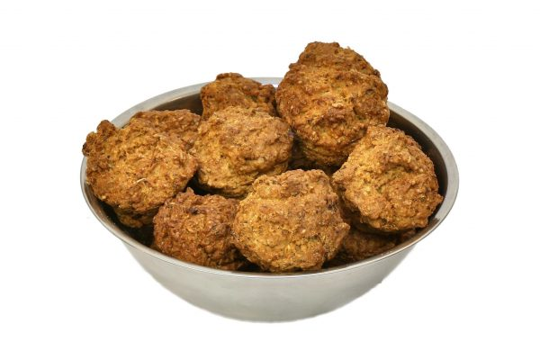 Muffins for dogs made with real beef meat