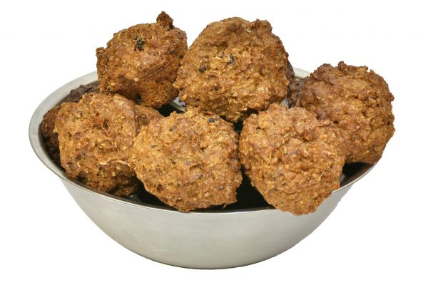 Muffins for dogs made with real chicken meat
