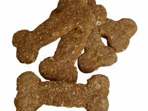 Homemade Large Oats & Molasses Dog Biscuits