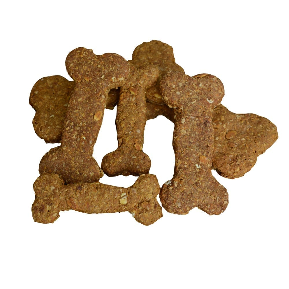 Homemade Dog Biscuits made with Oats and Molasses,small, Large and Jumbo size, no preservatives or salt.